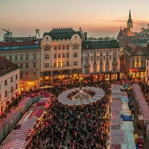 V čase Vianočných trhov....