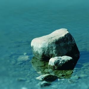 Stones in water..