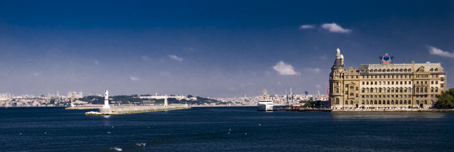 Istanbul see from asian part