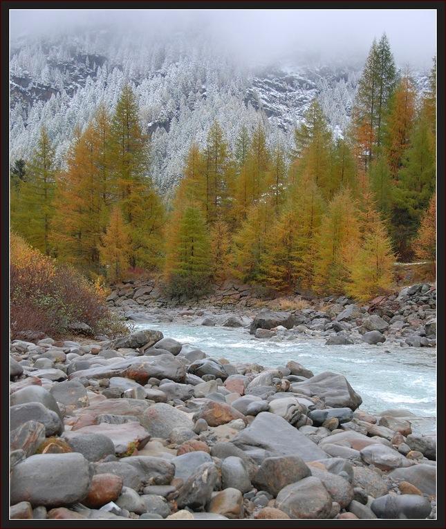 kontrast prírody