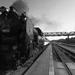 Historická parná lokomotíva