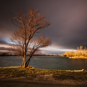 zima rybníková II