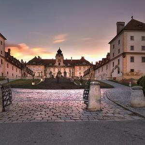 jeseň na zámku II