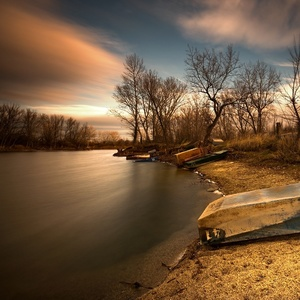 zima rybníková III