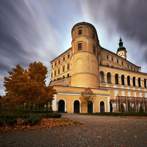 jeseň na zámku I.
