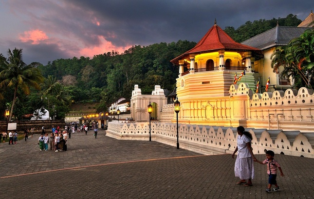 chrám budhovho zuba