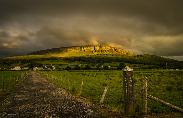 Binevenagh Mountain (retouched)