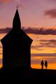 Romantika pri západe slnka