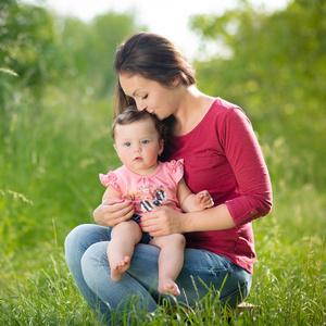 Miuška s maminou