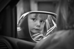 dcérka v aute