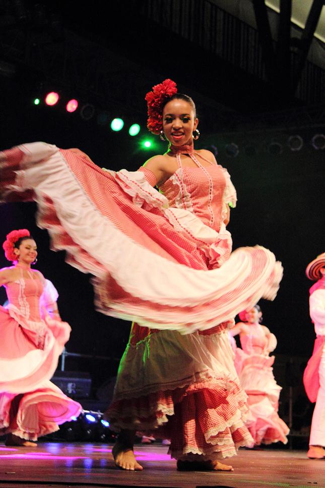 Kolumbijska tanecnica
