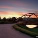 Most v rannom svetle