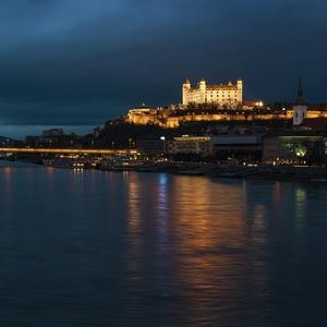 Večer pri Dunaji ...