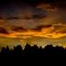 Západ slnka nad Dudincami