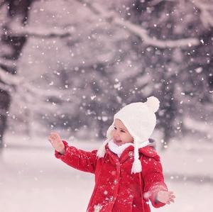 Radosť z prvého snehu
