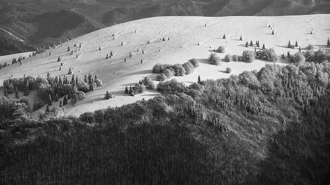 Nehybní lyžiari