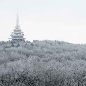 Pyramida v zime