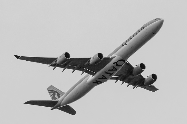 Airbus A340-642 A7-AGB