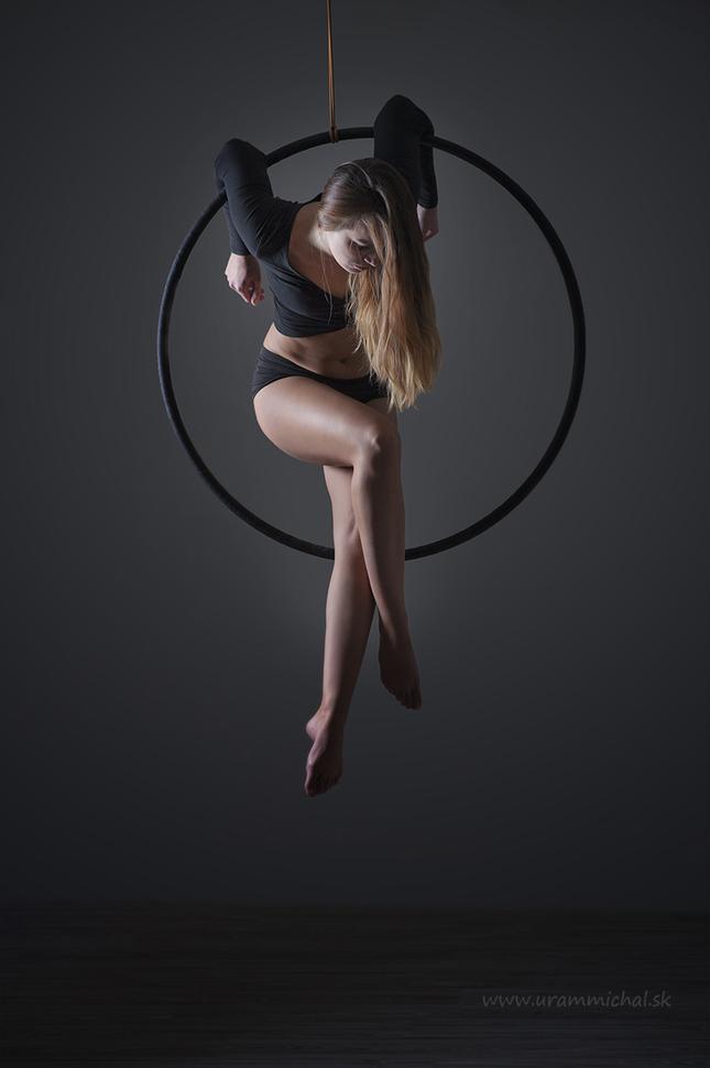 Aerial hoop lll.