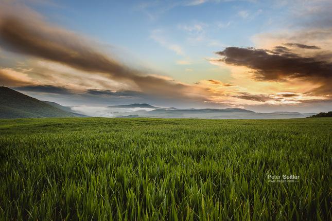 Večerný západ slnka II