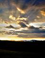 Sunset over Rosina