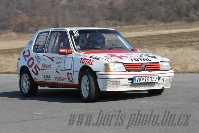 Peugeot 205 Rival Car