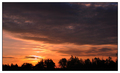 neobycajný východ slnka