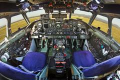 Antonov-26 cockpit