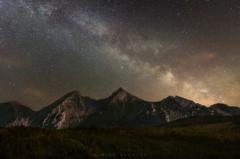 Belianky pod nočnou oblohou