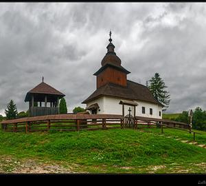 Drevený kostolík - Kalná Roztoka