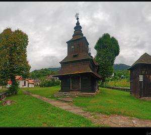 Drevený kostolík - Ruský Potok..