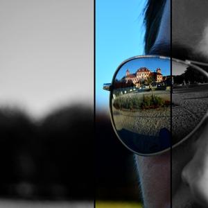 Cez okuliare