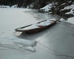 loďka zimy