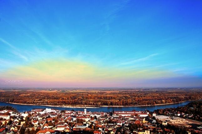Hainburg at Sunrise
