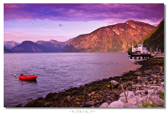 Colors of the Norwegian nature
