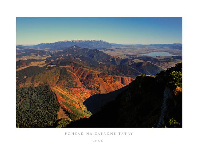 jesenné pohľady z Choča III.