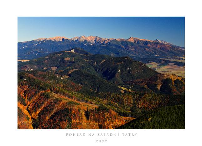 jesené pohľady z Choča II.