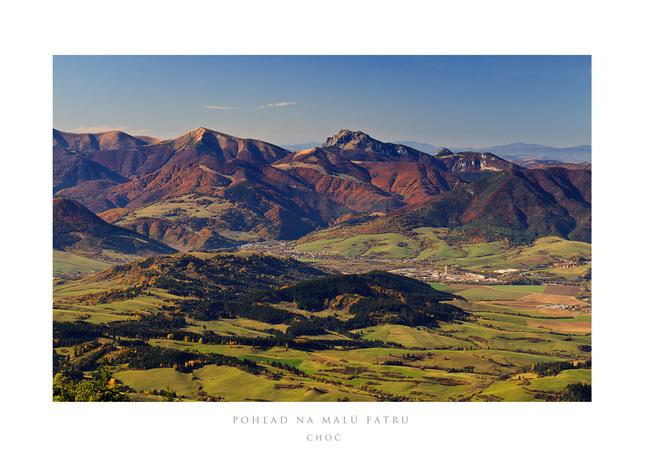 jesené pohľady z Choča