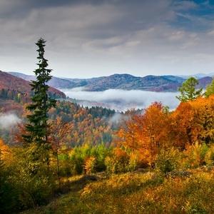 Jeseň v Kojšovskej doline