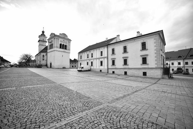 Spišská Sobota - Námestie
