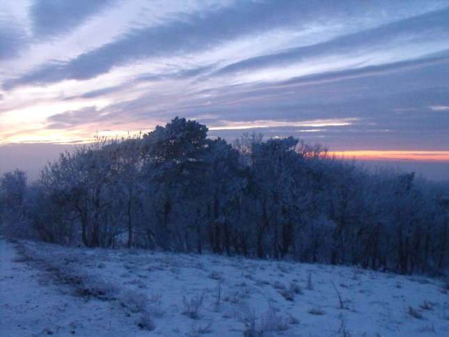 Zimná krajinka 4
