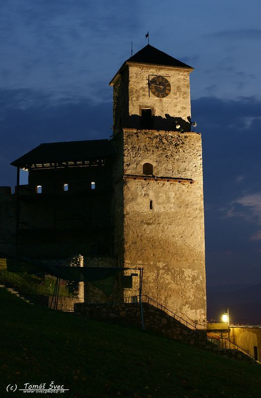 Nocna prehliadka Tren.hradu