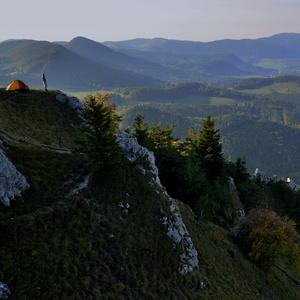 Ranný pohľad do doliny