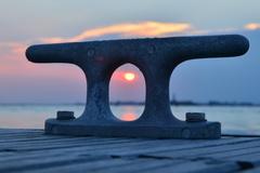 Večerné slnko nad Benátkami