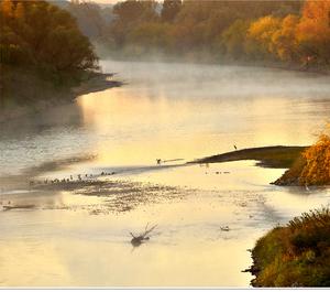 Ráno na Morave