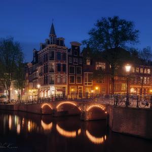 .. Večer v Amsterdame ..