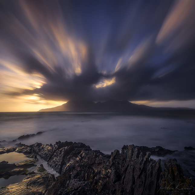 .. Isle of Eigg - Sunset ..