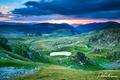 Transalpina mountains ..