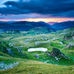 Transalpina mountains ..