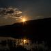 Slnko nad Turnianskym rybníkom